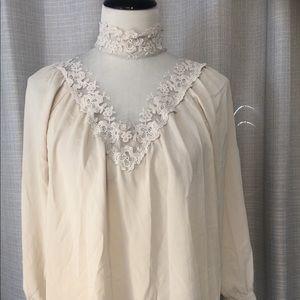 Love21 blouse XS long sleeve
